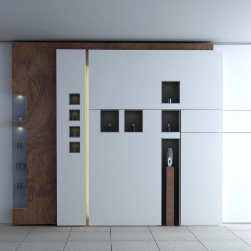 diseño y construcción de stands mueble expositor