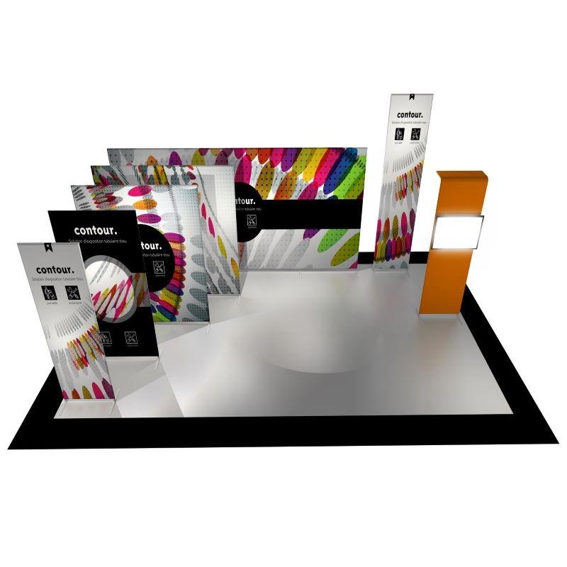 Diseño y construcción de stands CONTOUR