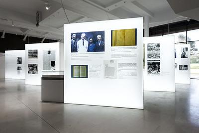 stand a medida Exposición lightbox