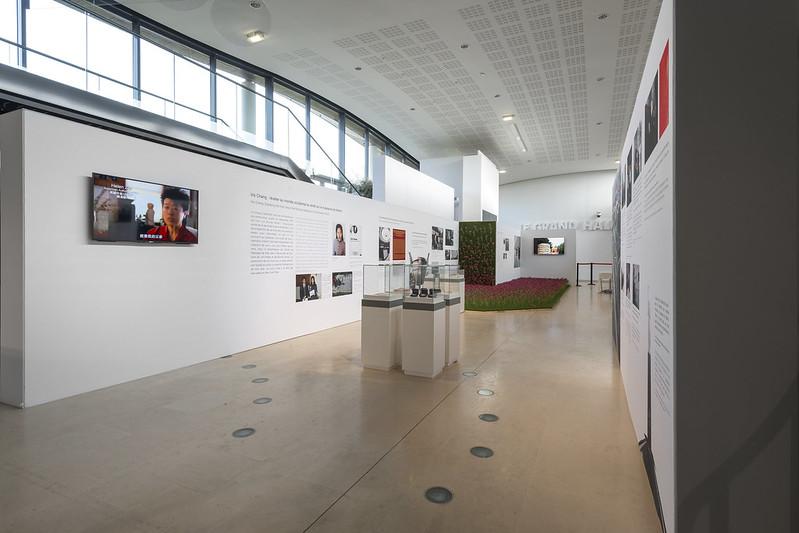 stand a medida Exposición en museo