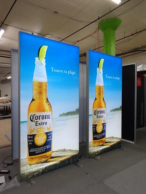 Lightbox – caja de luz tienda y stand cerveza