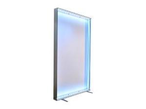 Lightbox – caja de luz tienda y stand cuadro con tira leds