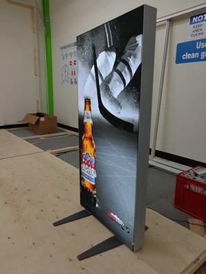 Lightbox – caja de luz tienda y stand transportable