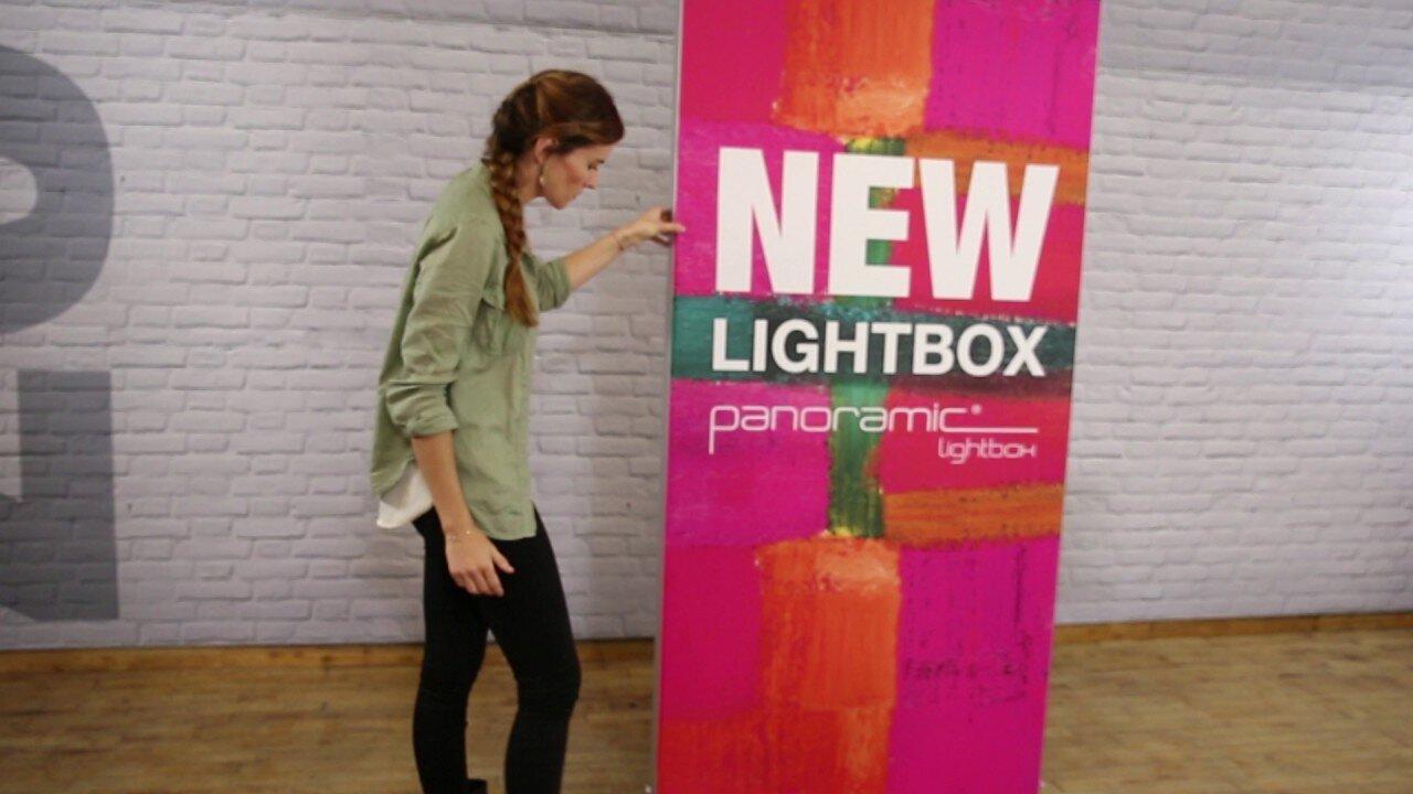 Lightbox – caja de luz tienda y stand individual
