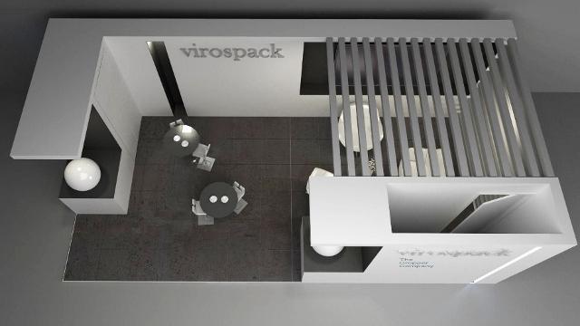 diseno de stands. COSMOPROF COSMOPACK. Virospack 03 640x360 1