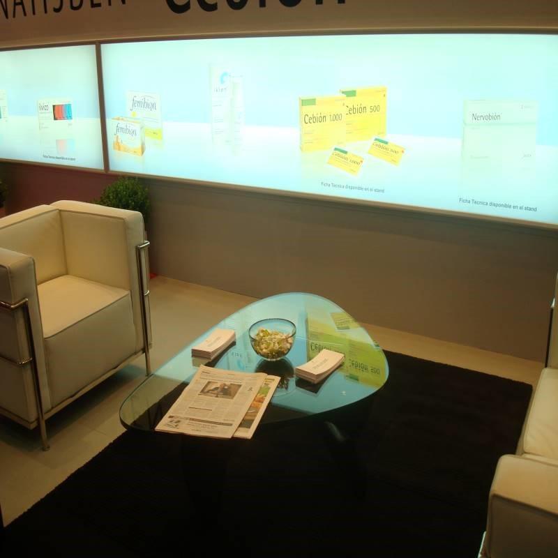 diseño y construcción de stands zona meeting