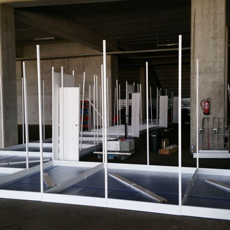 Diseño y construcción de stands en concierto